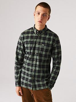 lacoste-small-check-shirt-multi