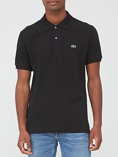 lacoste-plain-polo-with-croc-black