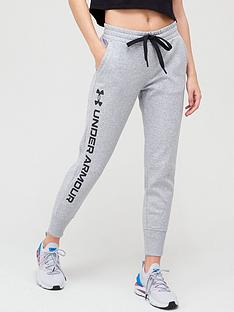 under-armour-rival-fleece-metallic-joggers-grey