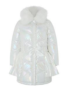 monsoon-girls-pearl-metallic-ruffle-padded-coat-ivory