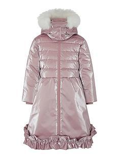 monsoon-girls-metallic-frill-padded-coat-pink
