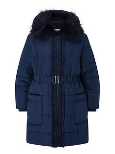 monsoon-girls-recycled-ruffle-belted-padded-coat-navy