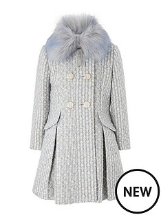 monsoon-girls-sparkle-tweed-coat-blue