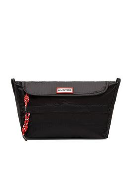 hunter-original-packable-crossbody-bag-black