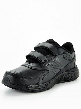 new-balance-680-leather-junior-running-trainers-blackblack