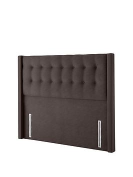 silentnight-isla-velvet-double-headboard