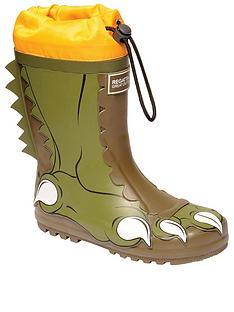 regatta-mudplay-dinosaur-junior-welly-khaki