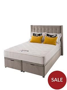 silentnight-isla-velvet-1000-memory-ottoman-storagenbspdouble-divan-bed
