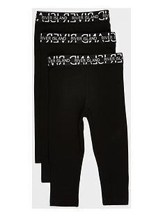 river-island-mini-mini-girls-waistband-leggings-3-pack-blacknbsp