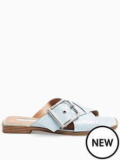 topshop-porto-cross-strap-buckle-sandal-blue