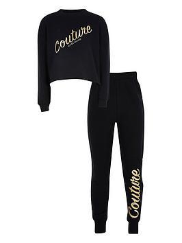 river-island-girls-couture-sweater-and-jog-pant-set--nbspblack