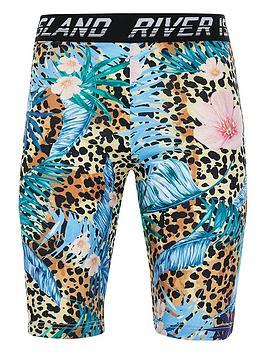 river-island-girls-tropical-leopard-cycling-shortnbsp--multi