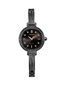 citizen-eco-drive-black-and-rose-gold-detail-swarovski-set-dial-black-swarovski-set-stainless-steel-bracelet-ladies-cocktail-watch