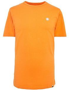 pretty-green-mitchell-logo-t-shirt-orange