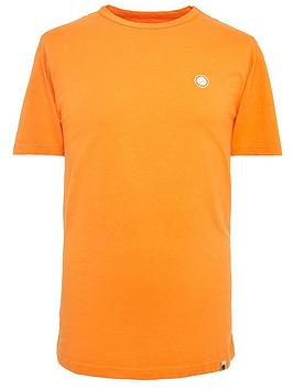 pretty-green-mitchell-logo-t-shirt-orange