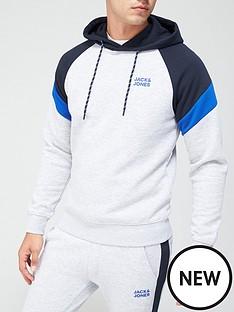 jack-jones-colour-block-logo-hoodie-greynbsp