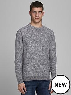 jack-jones-textured-knit-crew-neck-jumper-grey