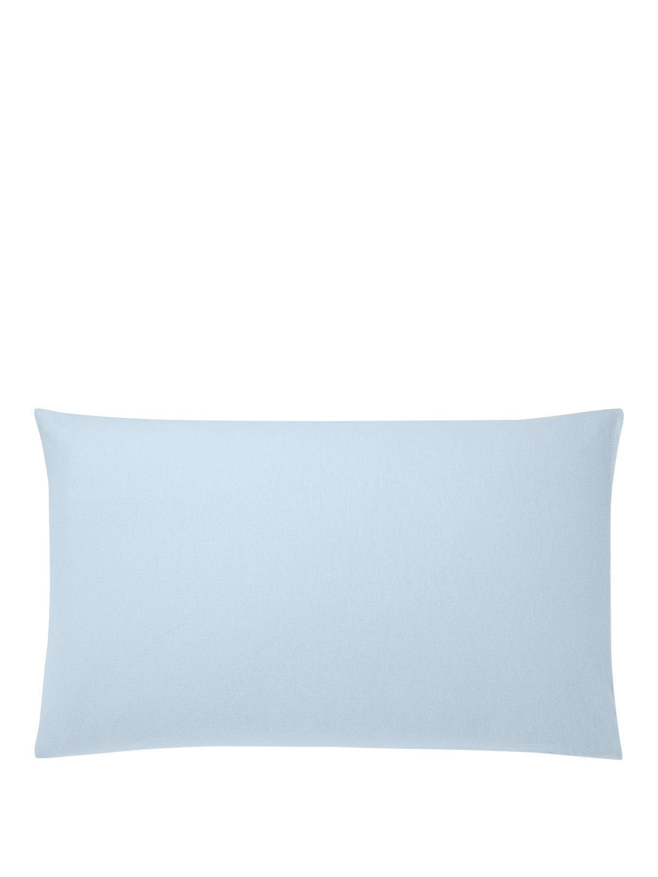 Brushed Cotton Pillowcase Pair