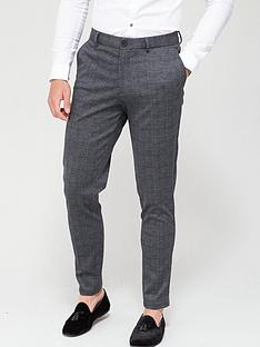 jack-jones-check-skinny-fit-jersey-trousers-dark-grey-check