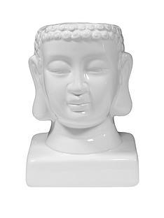 white-buddha-planter-pot