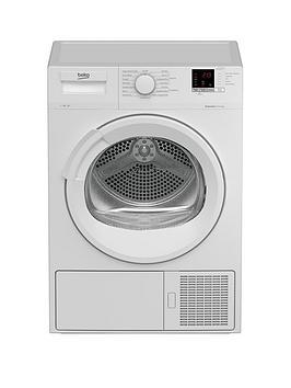 beko-dtlp71151w-7kg-condenser-dryer-with-heat-pump-white
