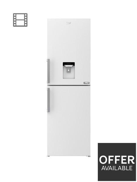 beko-cfp3691dvw-60cm-harvestfreshnbspfrost-free-fridge-freezer-with-water-dispenser-white