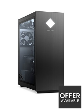 hp-omen-25l-desktop-pc--nbspgeforce-rtx-2060-graphicsnbspintel-corenbspi5-10400f-hyperx-16gb-ramnbsp256gbnbspssd-2tb-hdd