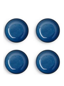 sabichi-4-piece-blue-reactive-stoneware-pasta-bowl-set