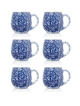 sabichi-set-of-6-blue-reactive-stoneware-mugs
