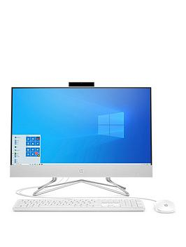 hp-24-aionbspall-in-one-desktop-pc-24nbspinchnbspfhd-display-intel-i3-10th-gen-128gb-ssd-4gb-ram-privacy-cam-keyboard-amp-mousenbspwith-optional-microsoft-365nbspfamily-1-year