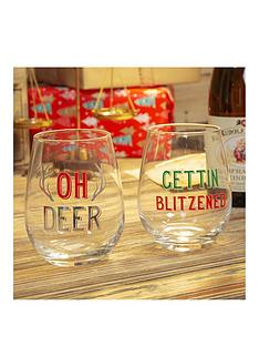 set-of-2-oh-deer-and-getting-blitzened-christmas-tumblers