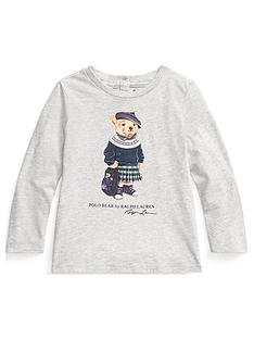 ralph-lauren-baby-girls-long-sleeve-bear-t-shirt-grey