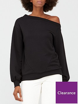 v-by-very-off-the-shoulder-slouchy-sweat-black