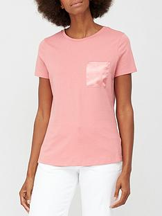 v-by-very-satin-pocket-t-shirt-blush