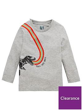 mini-v-by-very-long-sleeve-boys-rainbow-roar-dinosaur-t-shirt-grey