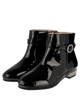 monsoon-girls-allegra-patent-diamante-heel-boot-black