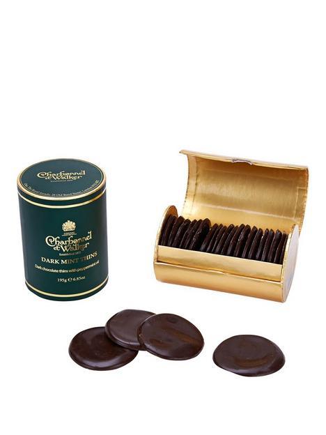 charbonnel-et-walker-dark-chocolate-mint-thins-200g