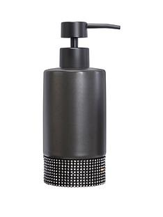 lloyd-pascal-sparkle-soap-dispenser-black