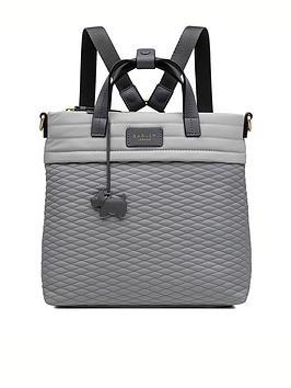 radley-penton-mews-medium-ziptop-backpack-ash
