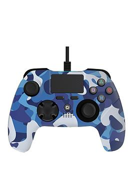 x-rocker-x-rocker-gaming-ps4-wired-controller-blue-camo