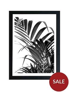 east-end-prints-palm-leaf-02-by-honeymoon-hotel-a3-framed-wall-artnbsp