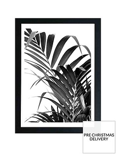east-end-prints-palm-leaf-02-by-honeymoon-hotel-a3-framed-wall-artnbsp