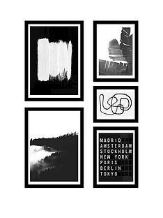 east-end-prints-noir-gallery-wall-set-by-rafael-farias-framed-prints