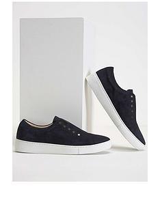 mint-velvet-lila-navy-star-suede-trainers-dark-blue