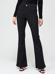 v-by-very-high-waist-forevernbspflare-jean-black