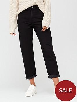 v-by-very-high-waist-mom-jean-black