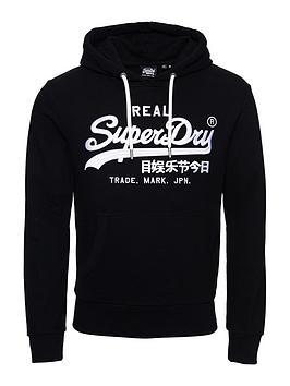 superdry-vintage-label-mono-logo-hoodie-black