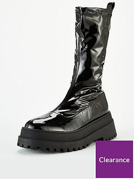 public-desire-eli-sock-boots-black