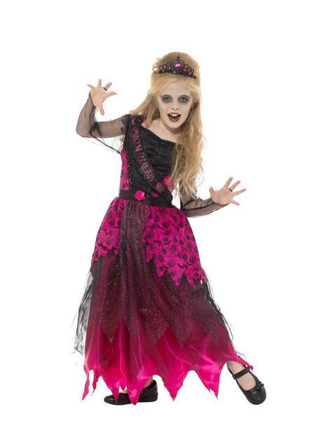 girls-gothic-prom-queen-costume