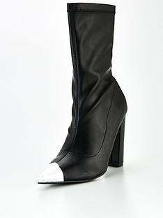public-desire-taken-sock-boots-blacknbsp